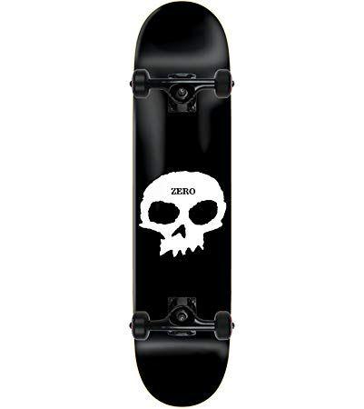 Zero Skateboard Complete Single Skull 8 5 Tensor Assembled Review Zero Skateboards Skateboard Kids Roller Skates
