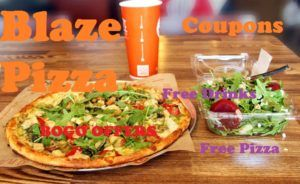 Bogo Blaze Pizza Coupons Promo Codes Jan 2020 With Images