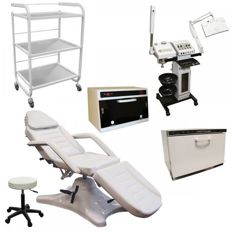 Silver Spa Equipment Skin Care Package Skin Care Packaging Esthetician Room Skin Care Equipment