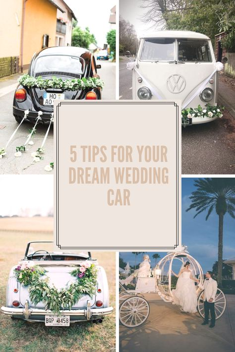 At the most important day of your life One of the issues that couples should decide is the bride's car. The bridal car is remarkable even for passersby Imagine that the wedding is yours! Even this thought makes people anxious. #weddingcar #weddingtips #weddingdress #weddingdecorations #weddinghairstyles #weddingideas #weddinggifts #summerwedding