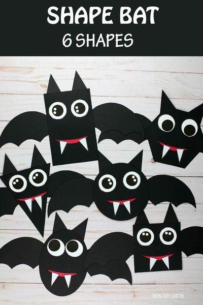 Maths Halloween, Halloween Crafts For Kids To Make, Halloween Crafts For Toddlers, Toddler Crafts, Halloween Activities For Preschoolers, Autumn Crafts For Kids, Kids Crafts, Haloween Craft, Halloween Theme Preschool