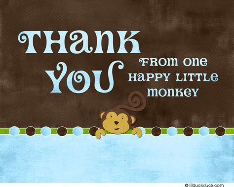 monkey-custom-brown-blue-green-thank-you-front