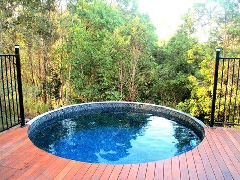 Plunge Pools Plunge Pool Concrete Backyard Backyard Pool