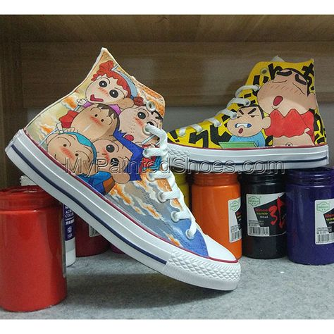 3193646adddc Anime Converse All Star Hand Painted Shoes Unisex Sneakers ...
