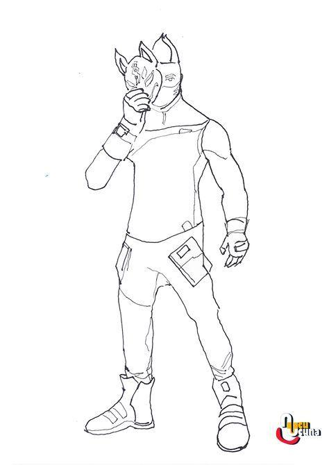 Drift Fortnite Draw Basic Step By Step Beginner Drawing Tutorial Of The Drift Skin In Fortnite Drawing Tutorials For Beginners Skin Drawing Drawing Tutorial