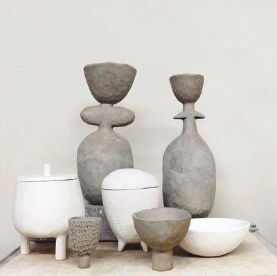 Organic Shapes Clay Ceramic Design Ceramics Contemporary Ceramics