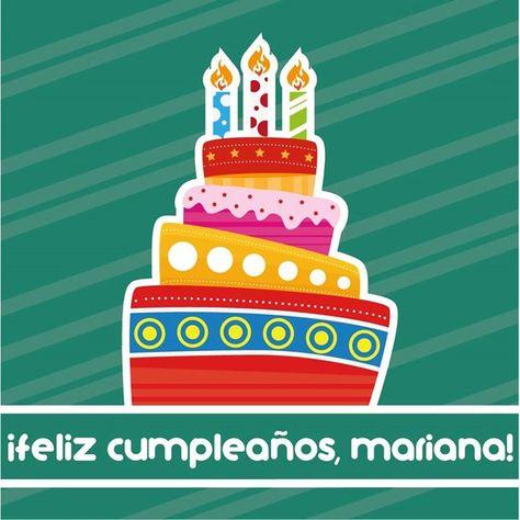 Feliz cumpleaños Mariana! Muchas bendiciones felicidad y buenos deseos para ti en este nuevo año de vida. Un fuerte abrazo!