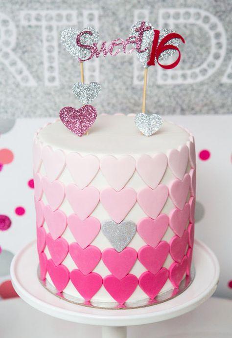 Birthday Cake Girls Teenager Simple Sweet 16 69 Trendy Ideas