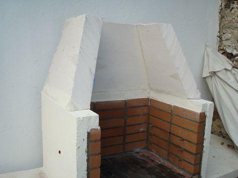 construction du0027un barbecue sur mesure GARDEN Pinterest - beton cellulaire exterieur barbecue