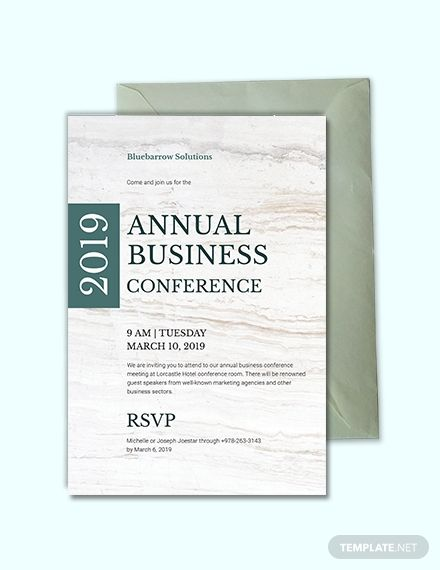 Business Conference Invitation