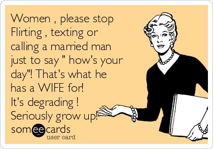 So true  Then they get upset when he choses his wife over them  If