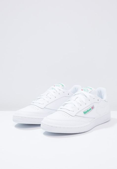 4af96614e8a Reebok Classic CLUB C 85 - Zapatillas - white green - Zalando.es