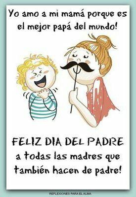 Pin De Pilar Astudillo En Dia De La Madre Y Día De La Mujer Feliz Día Del Padre Felicitaciones Día Del Padre Frases Para Mama