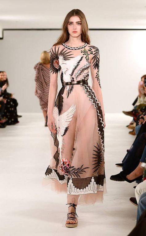 Temperley London: Best Looks at London Fashion Week Spring 2019