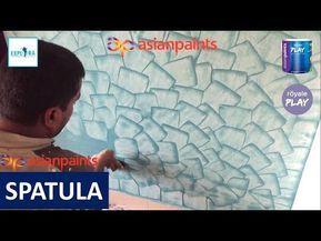 5 Asian Paints Royale Play Spatula Metallic Texture Design Youtube Asian Paints Royale Textured Wall Paint Designs Asian Paints
