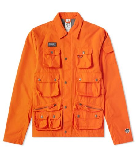 Ebay Sponsored Adidas Spezial Wardour Jacket Dy5862 Men S Medium Orange Mens Jackets Men S Coats And Jackets Windbreaker Jacket Mens