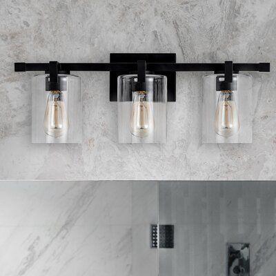 Light Fixtures Bathroom Vanity, Modern Bathroom Light Fixtures Black