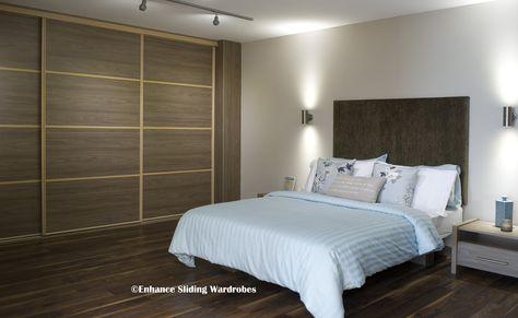 Swiss Elm Sliding Wardrobe with Matching Bed #bedroom #wardrobe - nolte delbr ck schlafzimmer