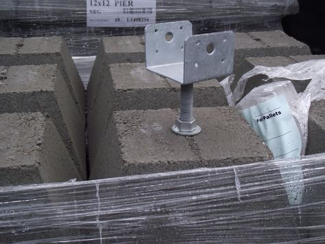 pier w/adjustable bracket, Mill Outlet Lumber, Tacoma