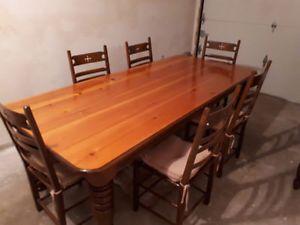 Table Bois Table Bois Decoration Maison Table