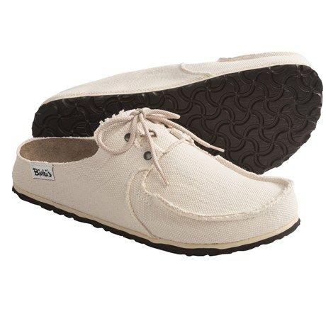 Zapatos blancos formales Birkenstock Boston para hombre Bmrykqlr