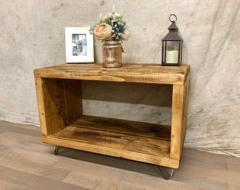 Solid wood Bitty Console