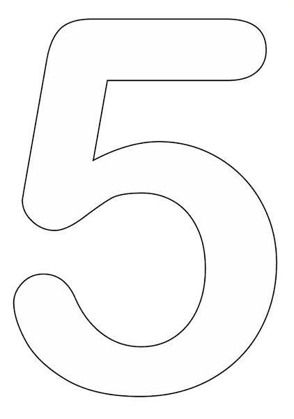 Printable Number Coloring Pages For Preschool Coloring Pages