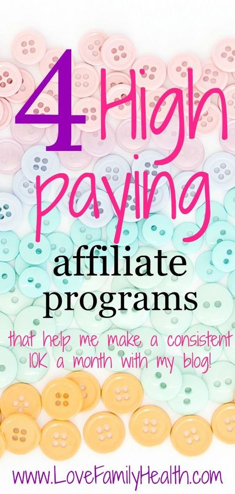 4 high paying affiliate programs that help me make over $10,000 a month with my blog!