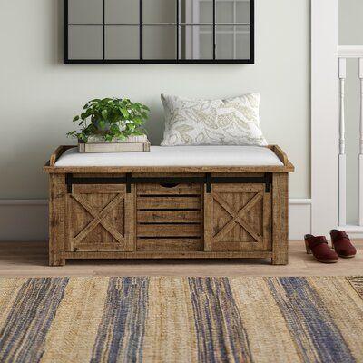 39+ Farmhouse storage bench inspiration