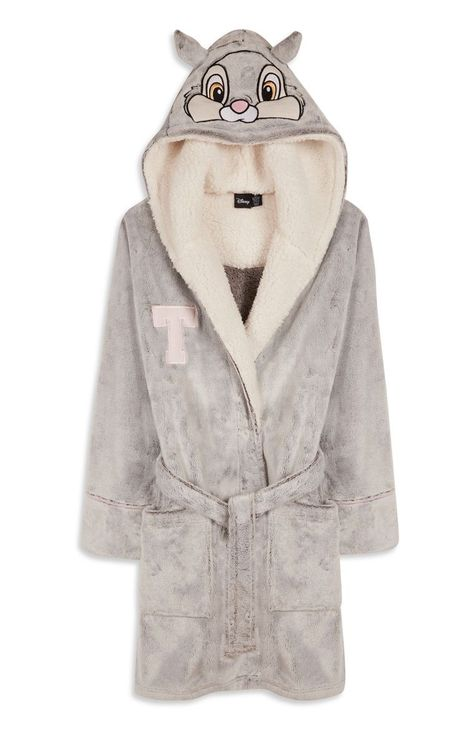 Photo of Grey Thumper Bunny Dressing Gown