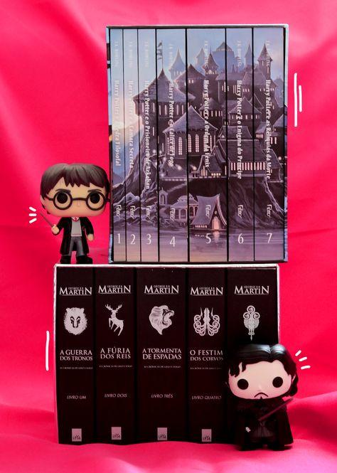 Hp Harrypotter Got Gameofthrones Livros Books Box