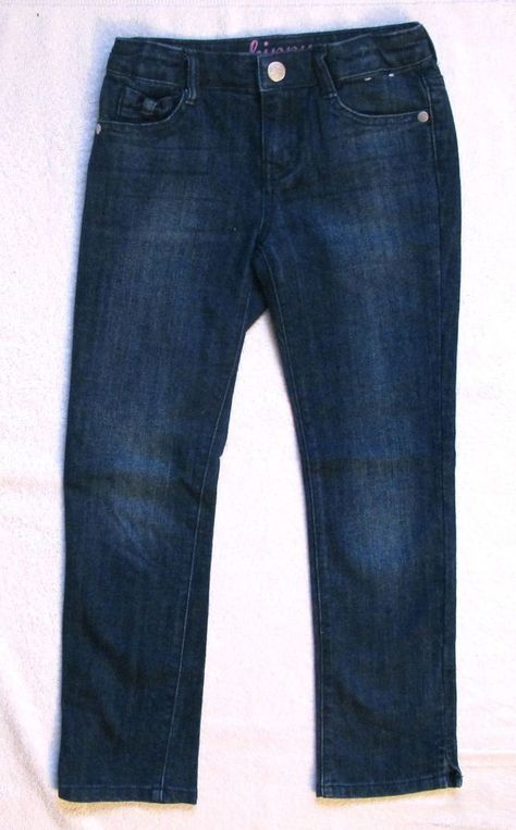 Gymboree Girls Dark wash Super Skinny Jeans Pants NWT Adjustable Waist Size 5