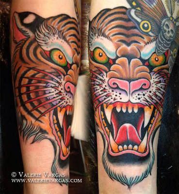 Resultado De Imagen Para Japanese Tiger Tattoo Knee Tigerkopf Tattoo Traditionelle Tatowierungen Armeltatowierungen