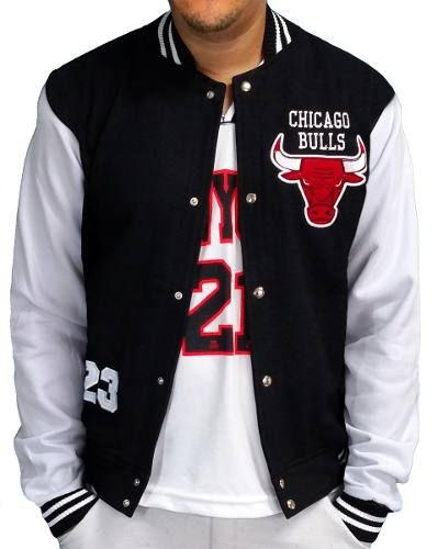 791d8b19c039 Jaqueta College Chicago Bulls Blusa Frio Masculina Moletom | https ...