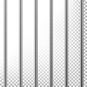 Metal Prison Bars Vector Isolated On Transparent Background Realistic Steel Pokey Prison Grid Illustration Prison Clipart Arrest Background Png And Vector Wi Fashion Poster Design Jail Bars Transparent Background