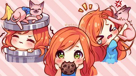Video Commission Alice Biscuit Emotes By Hyanna Natsu Anime Chibi Chibi Kawaii Chibi