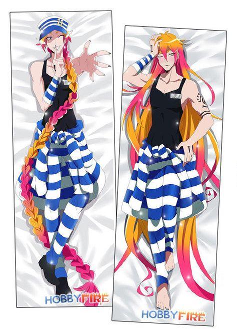 Kill la KIll Ryuko Matoi Dakimakura Anime Girl Hugging Body Pillow Cover Case 2