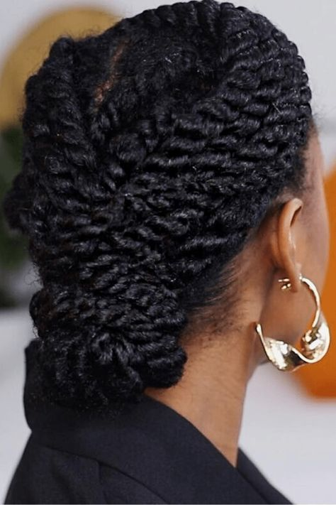 Havana Twist Updo, Havana Twist Styles, Havana Twist Hairstyles, Natural Braided Hairstyles, Protective Hairstyles For Natural Hair, 4c Natural Hair, Pelo Natural, Natural Hair Styles, Havana Twists
