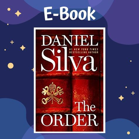 The Order By Daniel Silva E Book Ebook Digital Book Kindle Book Instant Download Books By Dbookstore On Etsy In 2020 Digital Birthday Cards Digital Book E Book