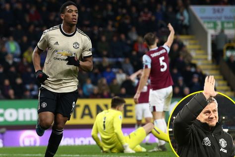#Football #PremierLeague Anthony Martial and Marcus Rashford strike as Manchester United earn hard-fought victory over Burnley at Turf Moor