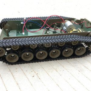 Wooden Tracked Tank Chassis Tracking Obstacle Avoidance Smart Car Wali Maker Education Hands On Diy Kit R4 Sinoning Electronics Diy Accessories Store Diy Kits Maker Education Diy