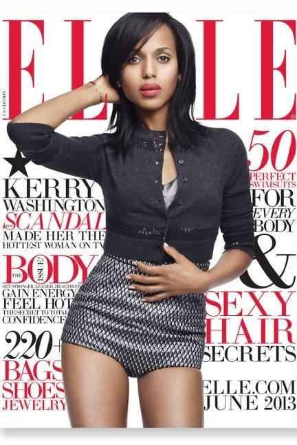 Kerry Washington also fell victim to the granny panty plague.