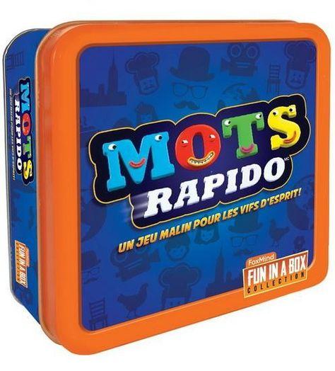 prix carte enfant + Foxmind : Mots Rapido | Jeu de carte enfant, Jeux et Jeux de société
