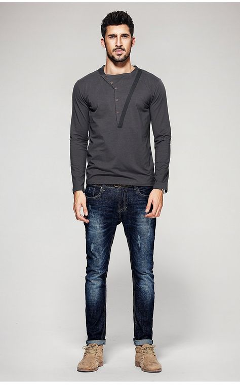 Style: Casual Sleeve Length(cm): Full Collar: O-Neck Pattern Type: Patchwork Hooded: No Fabric Type: Broadcloth Sale by Pack: No Sleeve Style: Regular Material: Cotton,Polyester,Spandex Item Type: Tops Tops Type: Tees Gender: Men