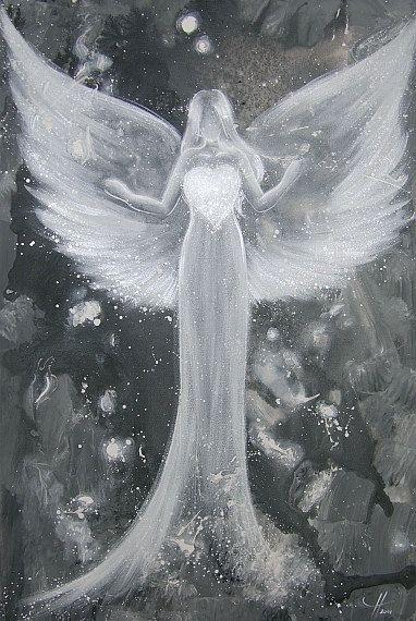 Limited angel art photo power of love modern by HenriettesART