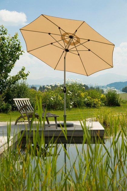 Sonnenschirm Venedig O 270 Cm Neigbar Ohne Schirmstander