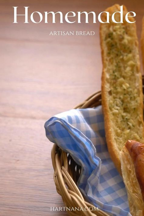 Make artisan bread like a pro - at home! Nothing is like fresh bread, that you made yourself