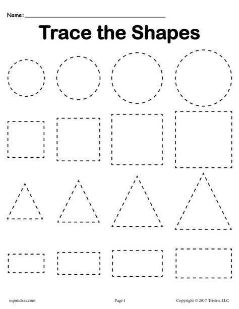 image about Free Printable Shapes Worksheets called Pin upon Tot College - Designs