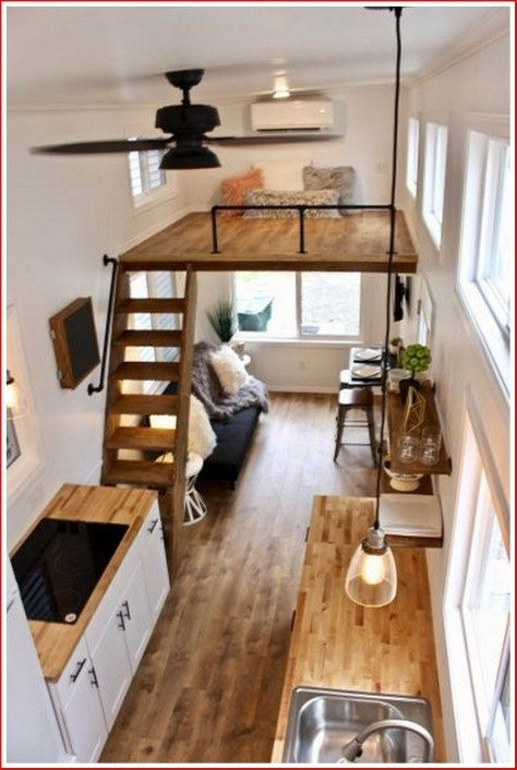Pin By Jon Keyser On House Boat In 2020 Tiny House Loft Best