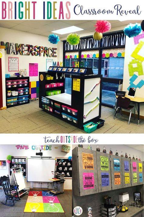 Bright Ideas Classroom Reveal Kindergarten Classroom Setup